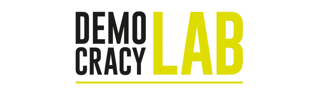 Logo of the Democracy Lab in Berlin