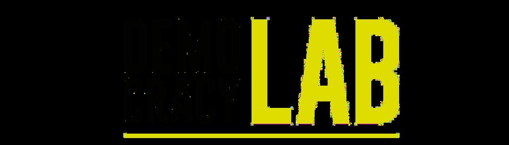 Logo of the Democracy Lab in Berlin