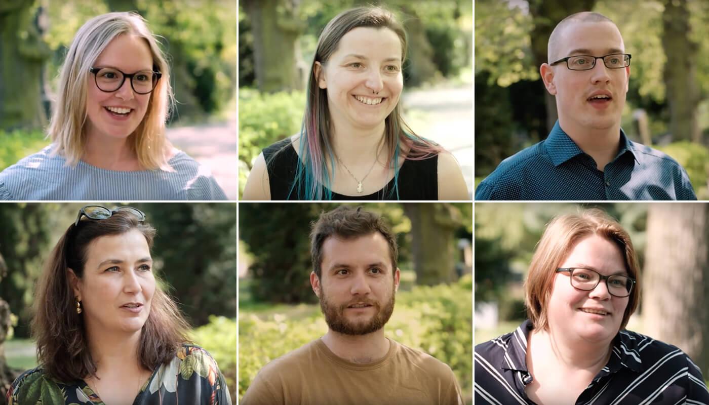 Das Foto zeigt alle TeilnehmerInnen der Learning Journey