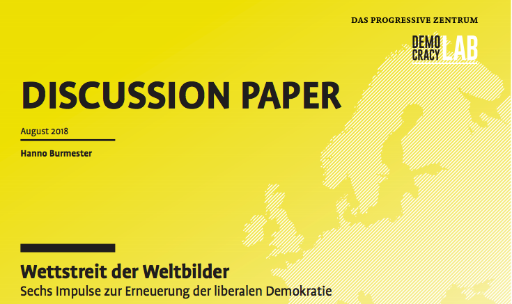 Cover des Discussion Papers: Wettstreit der Weltbilder